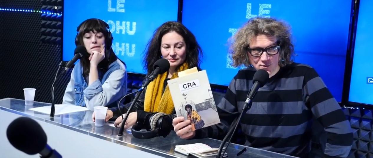 Pierre Mikailof parle de CRA dans le Tøhu-Bøhu sur VL média