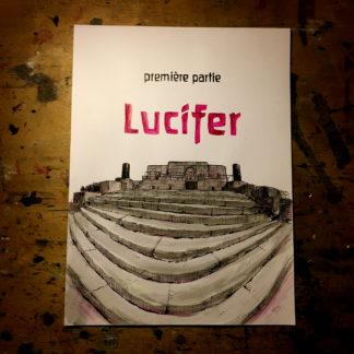 CosmoBacchus tome 1 : Lucifer - page de titre