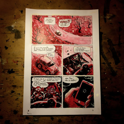 CosmoBacchus tome 1 : Lucifer - planche 1 (page 3)