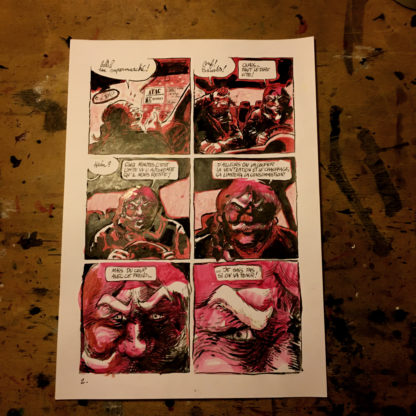 CosmoBacchus tome 1 : Lucifer - planche 2 (page 4)