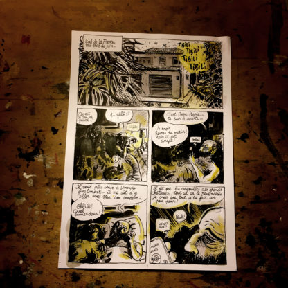 CosmoBacchus tome 2 : Ahriman - planche 1 (page 3)