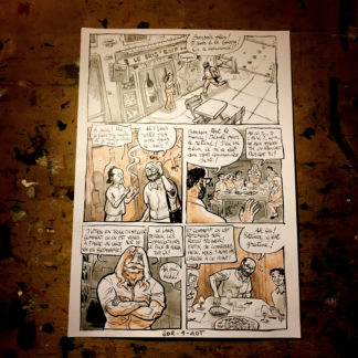 CosmoBacchus tome 3 : Soradt - planche 1 (page 3)