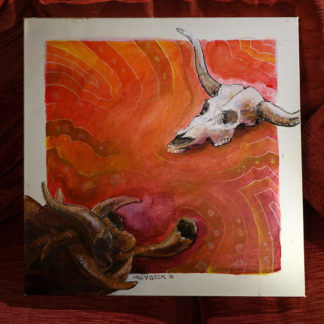 tableau cosmobacchus - préparation 500 - Lucifer - Tableau - Acrylique